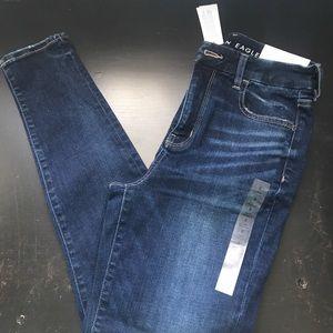 American eagle curvy hi rise jeans